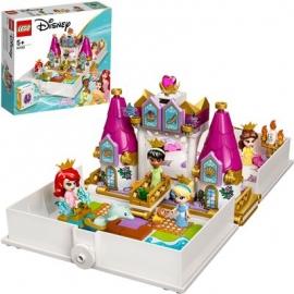 LEGO® Disney™ Princess 43193 - Märchenbuch Abenteuer mit Arielle, Belle, Cinderella und Tiana
