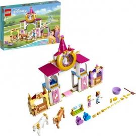 LEGO® Disney™ Princess 43195 - Belles und Rapunzels königliche Ställe