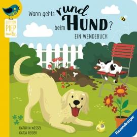 Ravensburger 41106 Wann gehts rund beim Hund?/ Wann macht die Katz Rabatz?: Ein Wendebuch