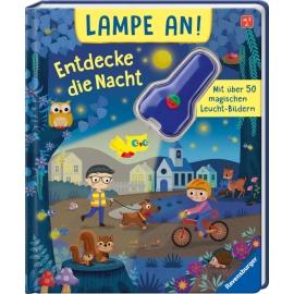Ravensburger 41040 Lampe an! Entdecke die Nacht