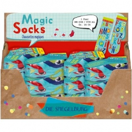 Die Spiegelburg - Bunte Geschenke - Magic Socks, one size, Gr.26-36