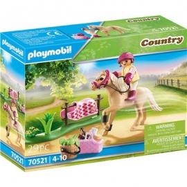 Playmobil® 70521 - Country - Sammelpony Deutsches Reitpony