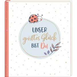 Coppenrath Verlag - Eintragalbum - Unser größtes Glück bist du