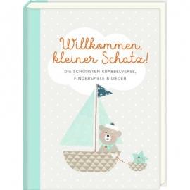 Coppenrath Verlag - Willkommen, kleiner Schatz! - Krabbelverse ..., Hellblau