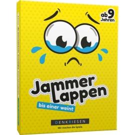 JAMMERLAPPEN - Das dramatisch lustige Kartenspiel bis einer weint - DENKRIESEN