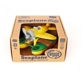 Green Toys - Wasserflugzeug mit gelben Tragflächen