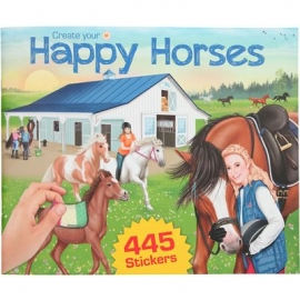 Depesche - Create your Happy Horses - Stickerbuch