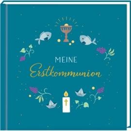 Coppenrath Verlag - Christl. Geschenke - Kleines Eintragalbum - Meine Erstkommunion, petrol