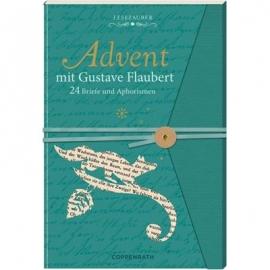 Coppenrath Verlag - Lesezauber: Advent mit Gust.Flaubert - Briefbuch z.Aufschn.