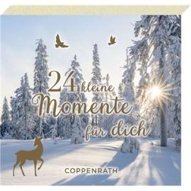 Coppenrath Verlag - 24 kl.Momente... Winter-Wunderland, Adventsblöckchen