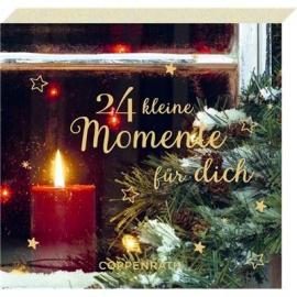 Coppenrath Verlag - 24 kl.Momente ... Weihnachten zuhaus, Adventsblöckchen
