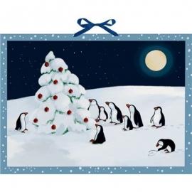Coppenrath Verlag - Pinguin-Weihnacht, Wand-Adventskalender