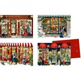 Coppenrath Verlag - Edition Barbara Behr - Nostalgische Läden, Mini-Adventskalender