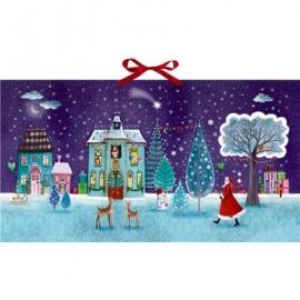 Coppenrath Verlag - Zauberhafte Weihnachtszeit, Wand-Adventskalender