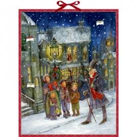 Coppenrath Verlag - Die Weihnachtsgeschichte von C.Dickens, Zettel-Adventskal.
