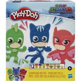 Hasbro - Play-Doh PJ Masks Helden-Knetset