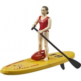Bruder - bworld Life Guard mit Stand Up Paddle