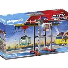 Playmobil® 70770 - City Action - Portalkran mit Containern