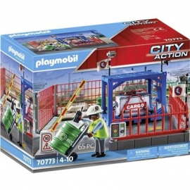 Playmobil® 70773 - City Action - Frachtlager