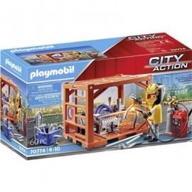 Playmobil® 70774 - City Action - Action Containerfertigung