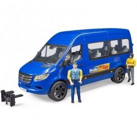 Bruder - MB Sprinter Transfer mit Fahrer und Fahrgast