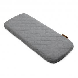 Wool Mattress Cover grey melange