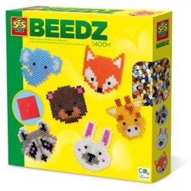 SES Creative - Beedz - Bügelperlen - Süße Tiere