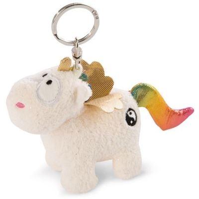 NICI - Theodor & Friends - Einhorn Rainbow Yang 10cm Schlüsselanhänger