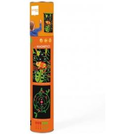 Scratch - Magnet Dartspiel Dschungel gross