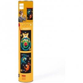 Scratch - Magnet Dartspiel Verrückte Monster gross