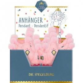 Die Spiegelburg - Prinzessin Lillifee - Krönchen-Anhänger, Glitter und Gold