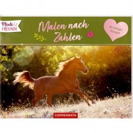 Coppenrath Verlag - Pferdefreunde - Malen nach Zahlen