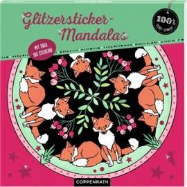 Coppenrath Verlag - 100% selbst gemacht - Glitzersticker-Mandalas