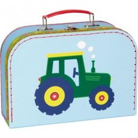 Die Spiegelburg - Kleine Freunde - Gr. Spielkoffer mit Sound Traktor