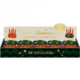 Die Spiegelburg - MIni Adventskranz Alle Jahre wieder …