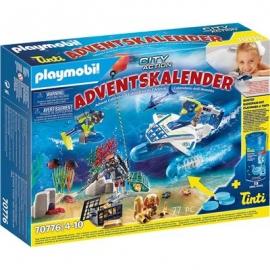 Playmobil® Adventskalender 70776 - Badespaß Polizeitaucheinsatz