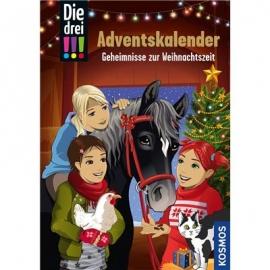 KOSMOS - Die Drei!!! - Adventskalender, Geheimnisse zur Weihnachtszeit
