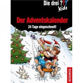 KOSMOS - Die drei ??? Kids - Der Adventskalender, 24 Tage eingeschneit!