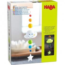 HABA® - Mobile Pünktchen Regenbogenwelt