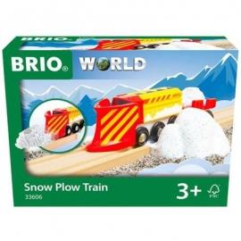 BRIO - Schneeräumzug