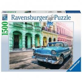 Ravensburger - Cuba Cars, 1500 Teile