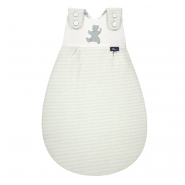 Baby-Mäxchen Außensack Organic Cotton Smoky Stripe