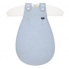 Baby-Mäxchen 3tlg. Special fabric Quilt aqua 50/56