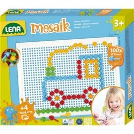 Lena - Mosaik Set color 10 mm, Faltschachtel