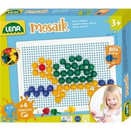 Lena - Mosaik Set color 15 mm, Faltschachtel