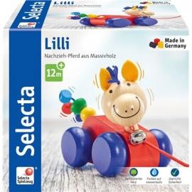 Schmidt Spiele - Selecta - Lilli, Nachzieh Pferd, 12 cm