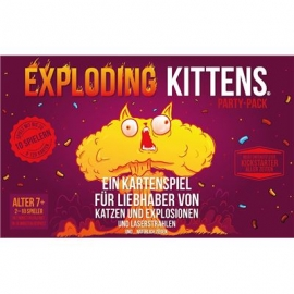 Exploding Kittens - Exploding Kittens Party-Pack