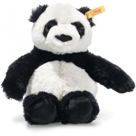 Steiff - Soft Cuddly Friends Ming Panda 20 weiss/schwarz