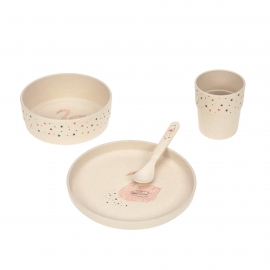 Dish Set PP/Cellulose Little Water Swan