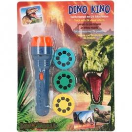Depesche - Dino World - Taschenlampe mit Bildeffekten